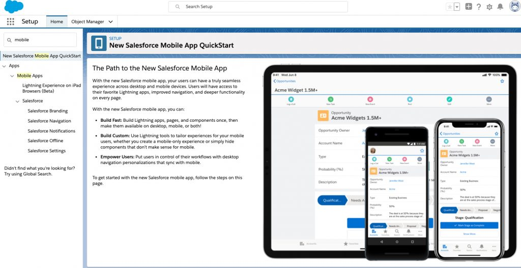 New Mobile App 1024x526 - Salesforce Winter 20' Release Breakdown